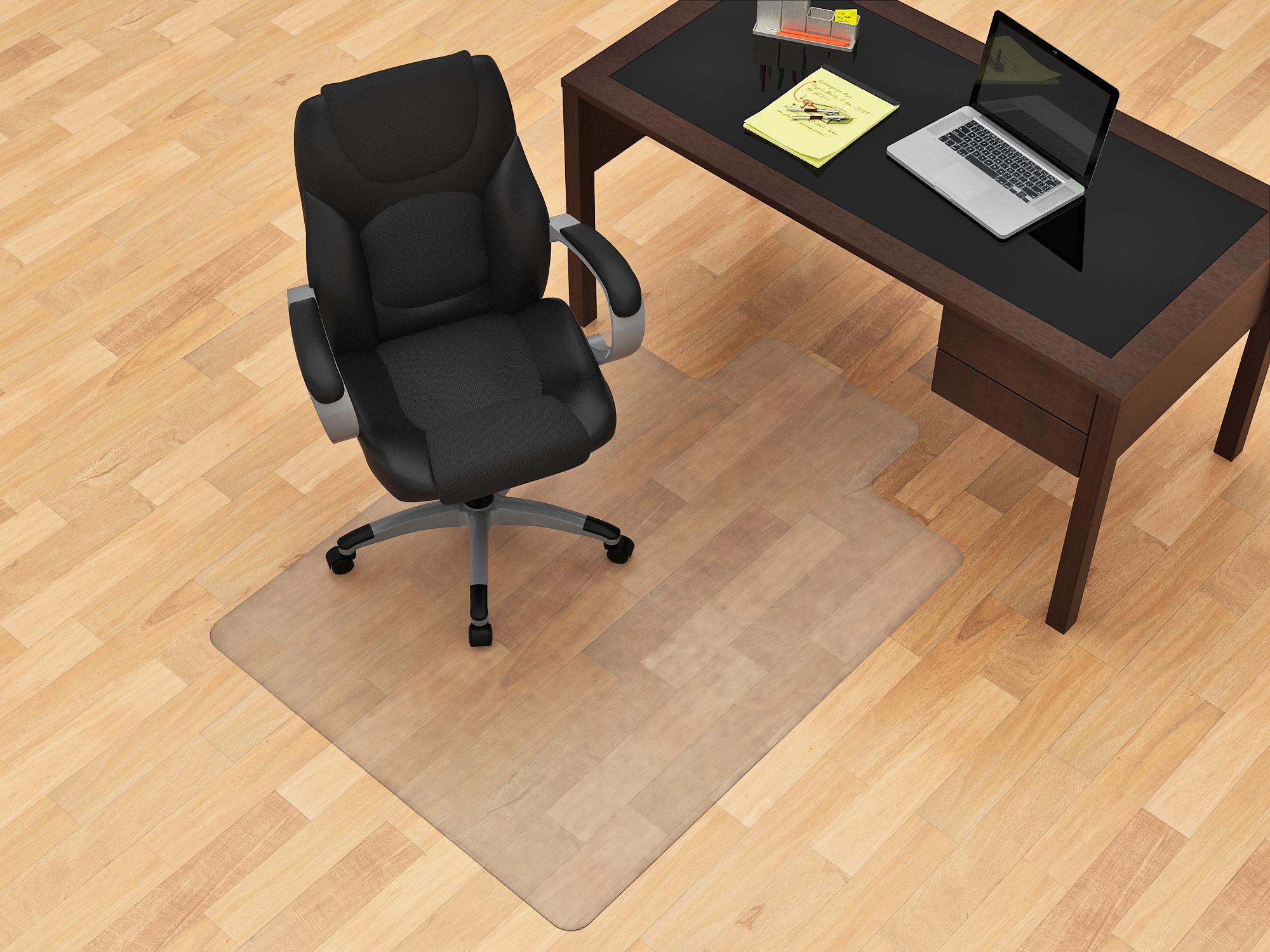 ergonomic chair mat design guild 45 x 53 hardfloor chairmat 46 30 ojcommerce