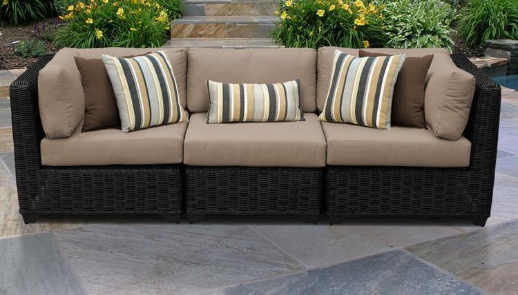 lexmod monterey outdoor wicker rattan sectional sofa set boconcept sofabord sectionals patio furniture ojcommerce venice 3 piece 03c