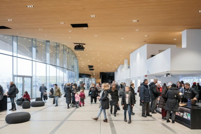 Press kit | 3977-01 - Press release | Helsinki Central Library Oodi - ALA Architects - Institutional Architecture - Ground Floor - Photo credit: Tuomas Uusheimo