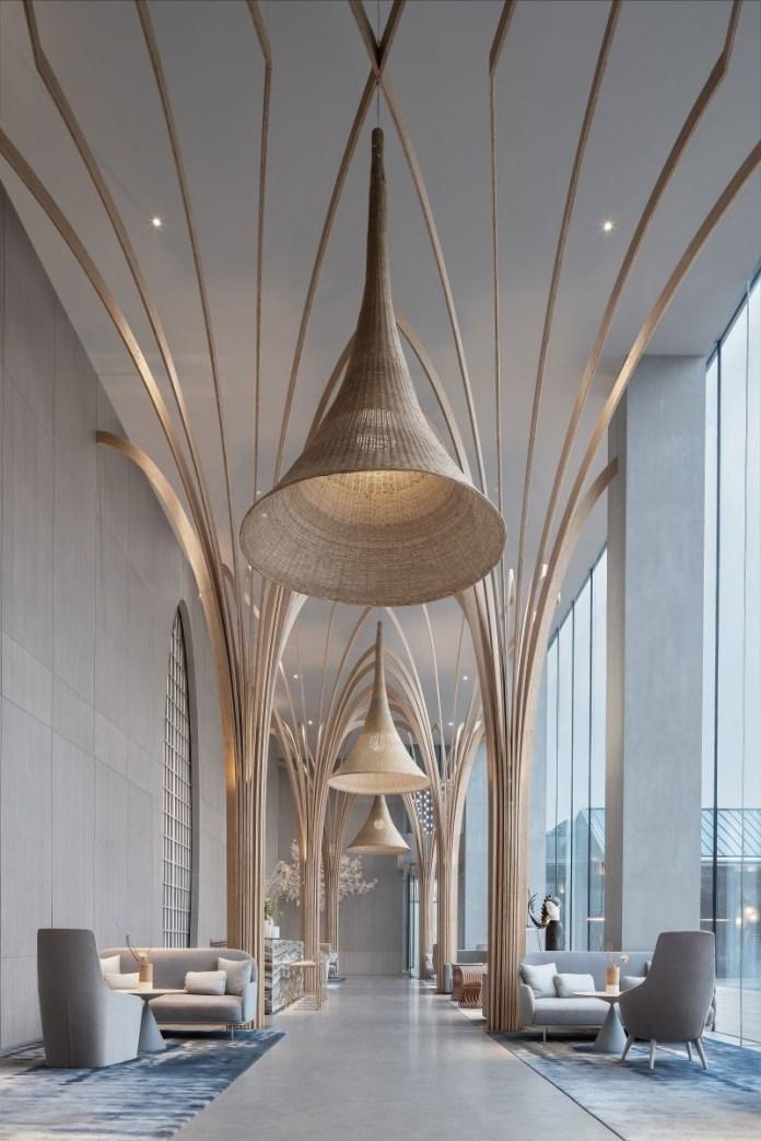 Press kit | 1968-13 - Press release | Architecture MasterPrize 2019 Winners Announced - Architecture MasterPrize - Commercial Architecture - Photo credit: CHONGQING VANKE EMERALD PARK CLUB by YU STUDIO