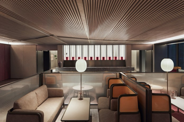 Press kit   3531-02 - Press release   Joya Hotel Hangzhou - Vermilion Zhou - Commercial Interior Design - Lobby with tea bar - Photo credit: Yunpu Cai<span></span>