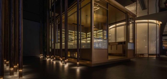 Press kit | 5588-02 - Press release | XU JI Seafood Restaurant (Land Kylin) - Daxiang Design Studio - Commercial Interior Design - The golden wine house - Photo credit: ©️Chuan He