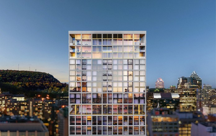 Press kit | 618-12 - Press release | LEMAYMICHAUD Rewarded With a Popular Choice Award at the 2021 Architizer A+Awards! - LEMAYMICHAUD Architecture Design - Residential Architecture - Rendering - MAA Condominiums & Penthouses - Photo credit: Devimco Immobilier