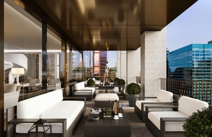 Press kit | 618-12 - Press release | LEMAYMICHAUD Rewarded With a Popular Choice Award at the 2021 Architizer A+Awards! - LEMAYMICHAUD Architecture Design - Residential Architecture - Interior design (condos and common areas) by Blazysgerard - Photo credit: Devimco Immobilier