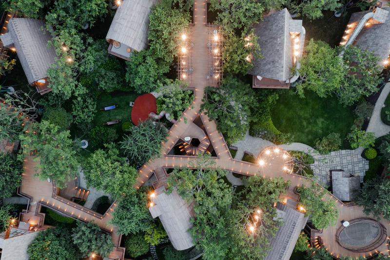 Press kit | 4150-06 - Press release | Guilin Lebei Homestay Hotel - aoe - Commercial Architecture - Photo credit:  Runzi Zhu