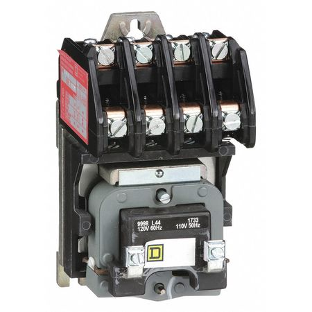 Square D Lighting Contactor Class 8903 Wiring Diagram Square D 120vac Electrically Held Lighting Contactor 4p