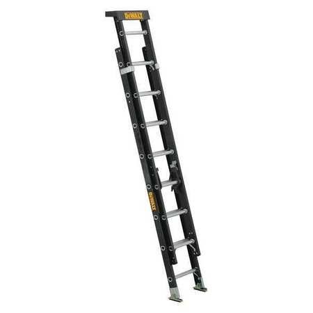 Dewalt Extension Ladder, Fiberglass, 16 ft. , Type IA
