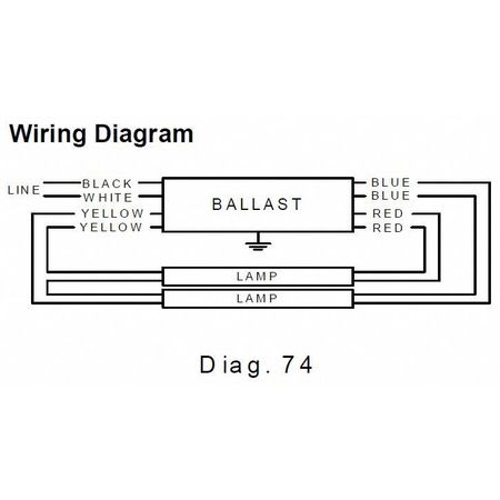 T12 Ballast Wiring Diagram 1 Lamp And 2, T12, Free Engine