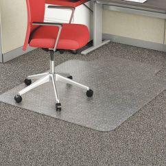 Desk Chair Mat For Carpet Buy Covers Edmonton Alera Stud 45 X53 Lip Clear Alemat4553cfpl Zoro Com