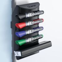 Quartet Marker Holder, 8-1/4inH, Black, Plastic 85377 ...