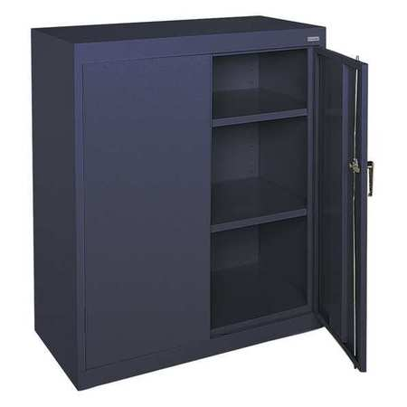 Sandusky Storage Cabinet 36x18x42in Navy Blue CA21361842