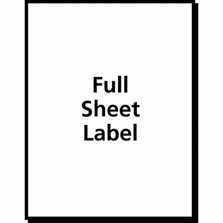 Avery Avery® Clear Full-Sheet Shipping Labels for Inkjet