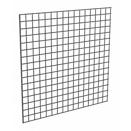 ECONOCO P3BLK44 Wire Grid Panel 4 ft. x 4 ft., Black, 3PK