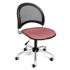 Pink Swivel Chair Herman Miller Embody Used Ofm Inc Moon Coral 336 2208 Zoro Com
