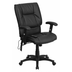 Back Massage Chair Timothy Oulton Mimi Dining Flash Furniture Black Mid Bt 2770p Gg Zoro Com