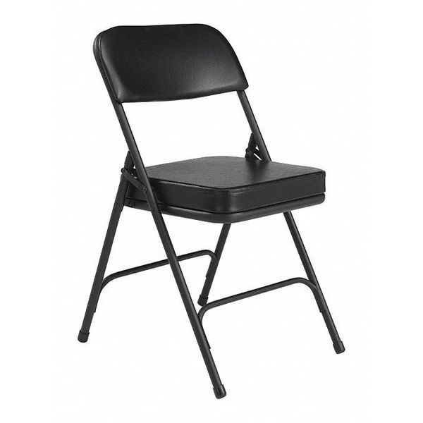 public seating chairs antique ladder back folding chair vinyl 32in h black pk2 national 3210 image is loading