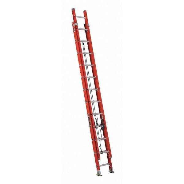 Louisville 24 Ft Fiberglass Extension Ladder Fe3224 Ebay