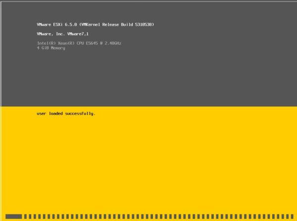 Install VMware vSphere 6.55