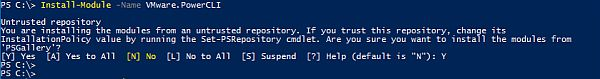 PowerCLI 6.5.4 - Install