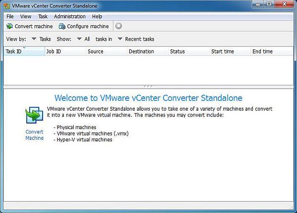 vCenter Converter Standalone