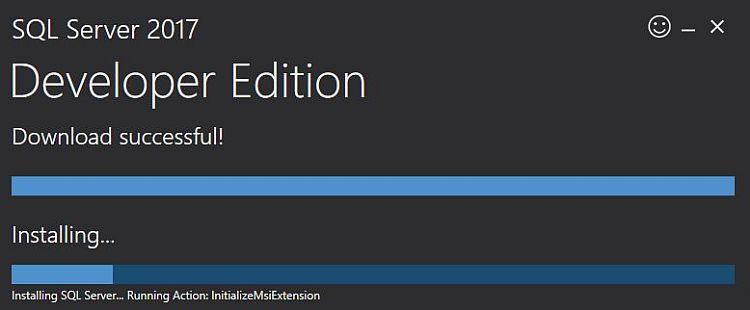 Install Microsoft SQL Server 2017 Developer Edition