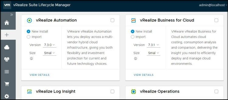 Install vRealize Suite Lifecycle Manager