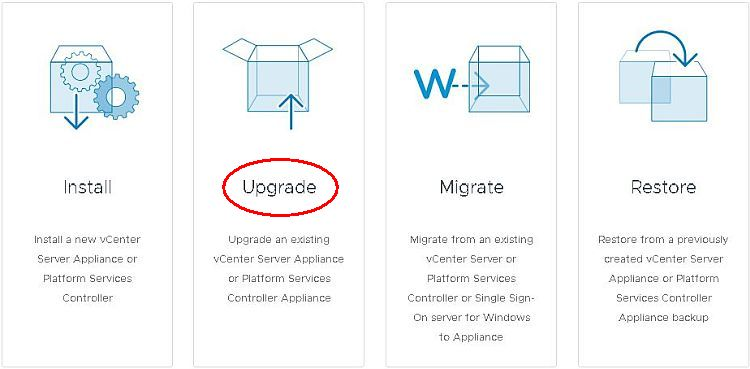 How to Upgrade vCenter Server Appliance from 6.5 to 6.7