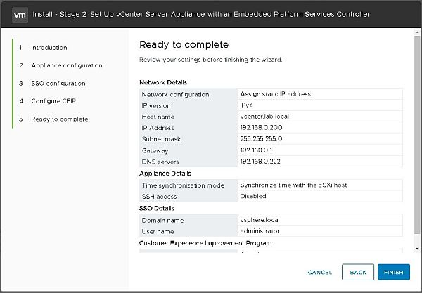 Install VCSA 6.7 - Ready to Complete Stage 2.jpg