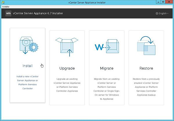 How to Install VCSA 6 7 (VMware vCenter Server Appliance) > CloudHat eu