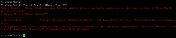 PowerCLI 11.1.0 - Import Module Error