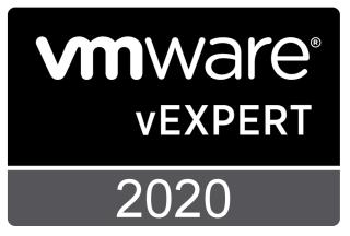 VMware vExpert 2020