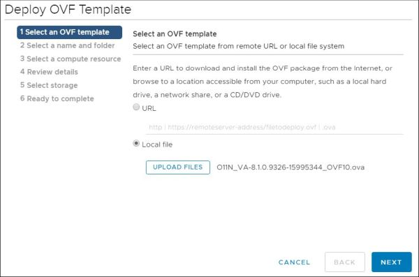 vRealize Orchestrator - Deploy OVF Template