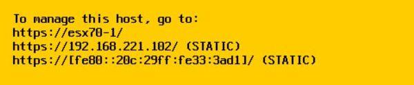 Install vSphere 7.0 - Confirm Details