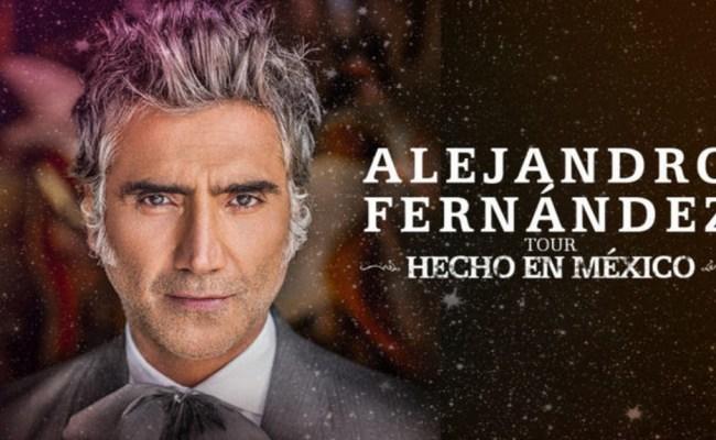 Alejandro Fernandez Announces United States Canada And