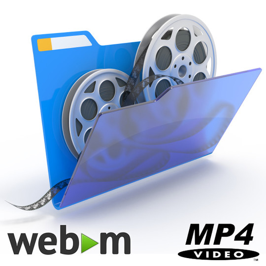Reduce size of animated GIF, auto convert to WebM/MP4