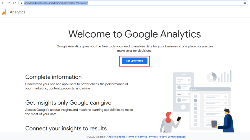 welcome to google analytic