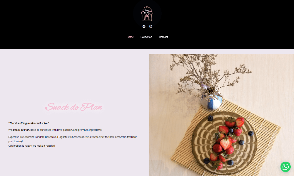 snackdeplan ecommerce website design sri petaling
