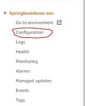 spring boot demo configuration