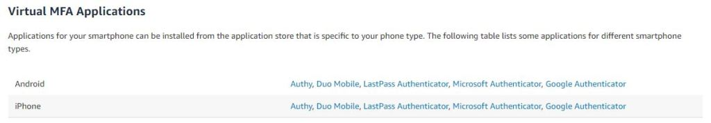 How to Enable Multi-Factor Authentication (MFA) on AWS 1