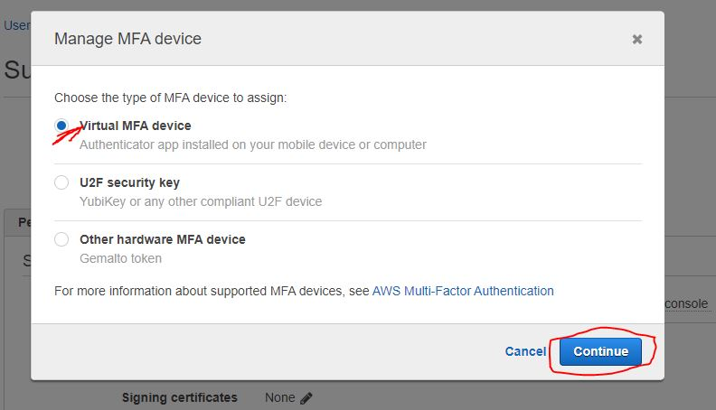 How to Enable Multi-Factor Authentication (MFA) on AWS 4