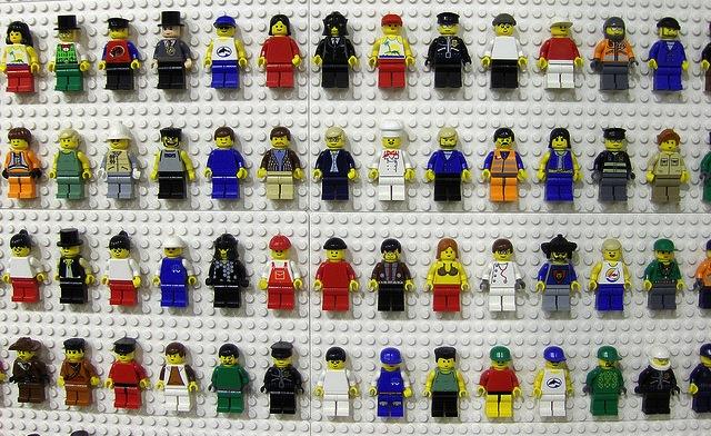 Wall Of Lego Customers
