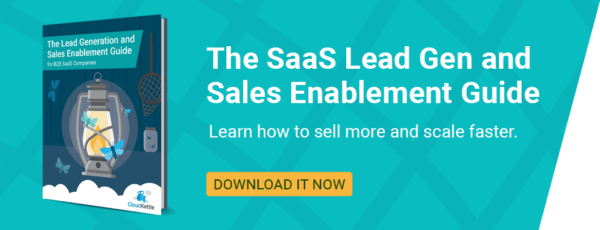 Lead Generation and Sales Enablement Guide for B2B SaaS Companies