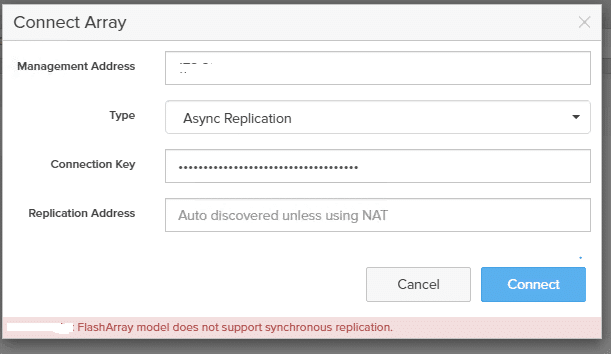 synchronous-replication-issue