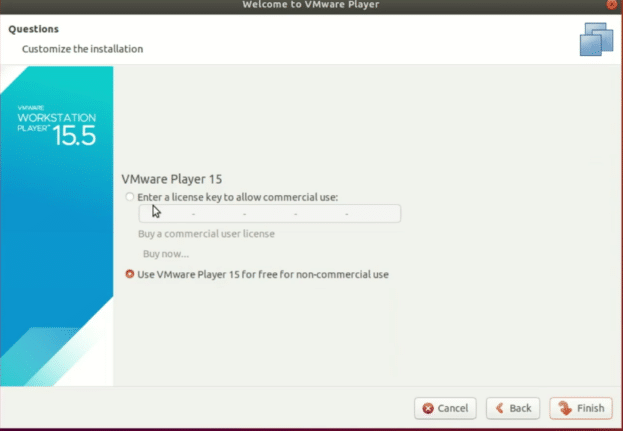 Vmware-Workstation-preference