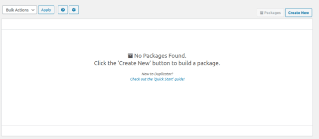 create-new-package-transfer-website