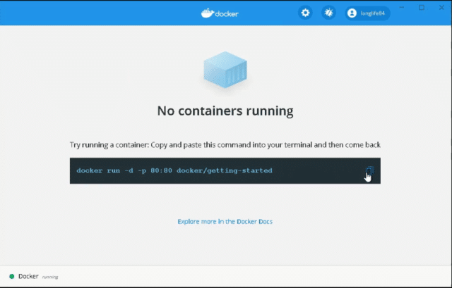 Run-container-in-docker-command
