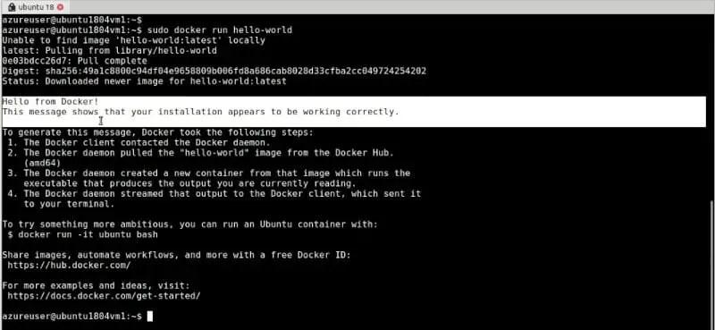 Verify-docker-installation