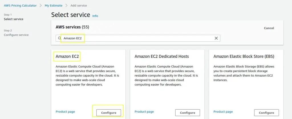 Select-AWS-EC2-service