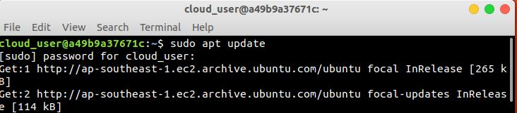sudo-apt-update