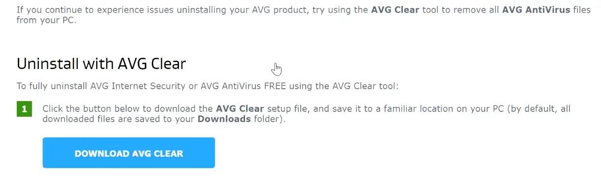 uninstall-avg-using-AVG-clear